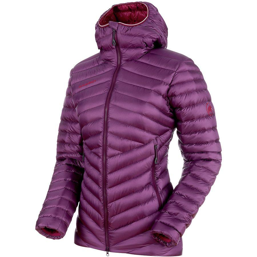 (取寄)マムート レディース ブロード ピーク イン フーデッド ジャケット Mammut Women Broad Peak IN Hooded Jacket Grape/Beet