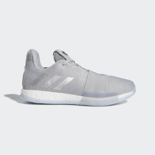 (取寄)アディダス メンズ ハーデン ボリューム 3 バスケットボールシューズ adidas Men's Harden Vol. 3 Shoes Grey / Silver Metallic / Aero Blue