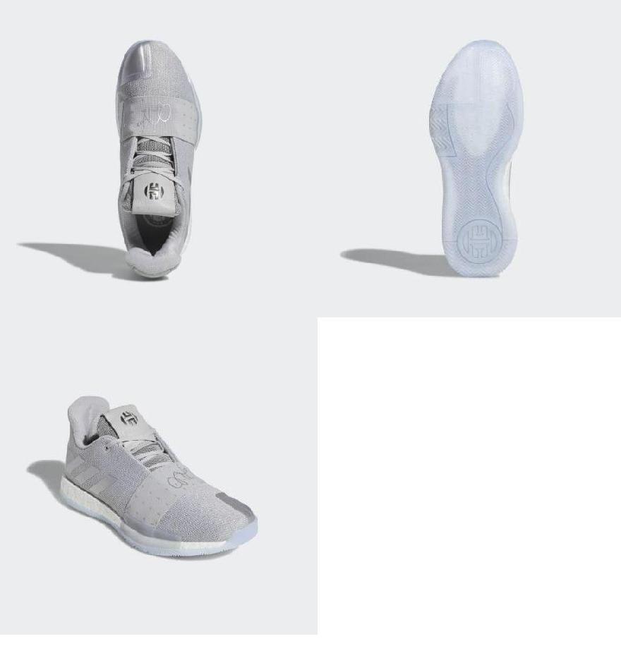 online store 742c7 deab7 (order) Adidas men Arthur Harden volume 3 basketball shoes adidas Men s  Harden Vol. 3 Shoes Grey   Silver Metallic   Aero Blue