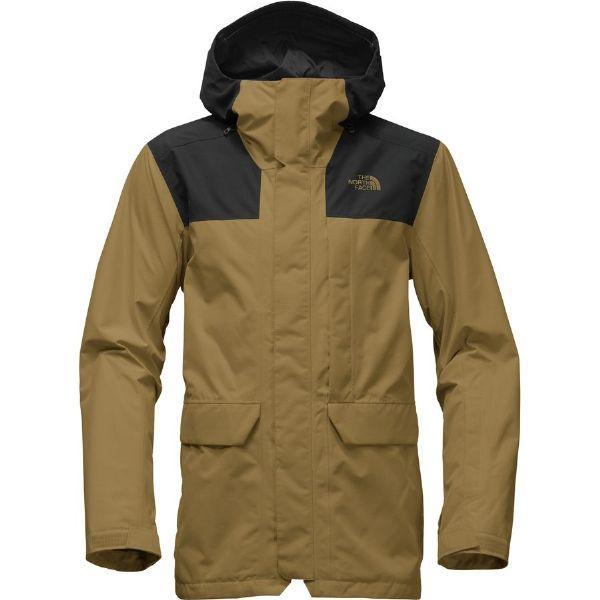 (取寄)ノースフェイス メンズ Alligare サーモボール トリクラメイト フーデッド ジャケット The North Face Men's Alligare Thermoball Triclimate Hooded Jacket British Khaki/Tnf Black