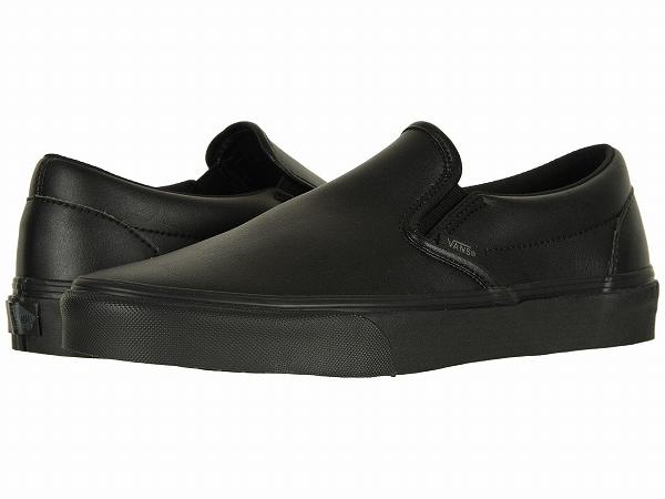 9ecf2d7e67a (order) Vans (vans) sneakers classical music slip men Vans Men s Classic  Slip (Classic Tumble) Black Mono