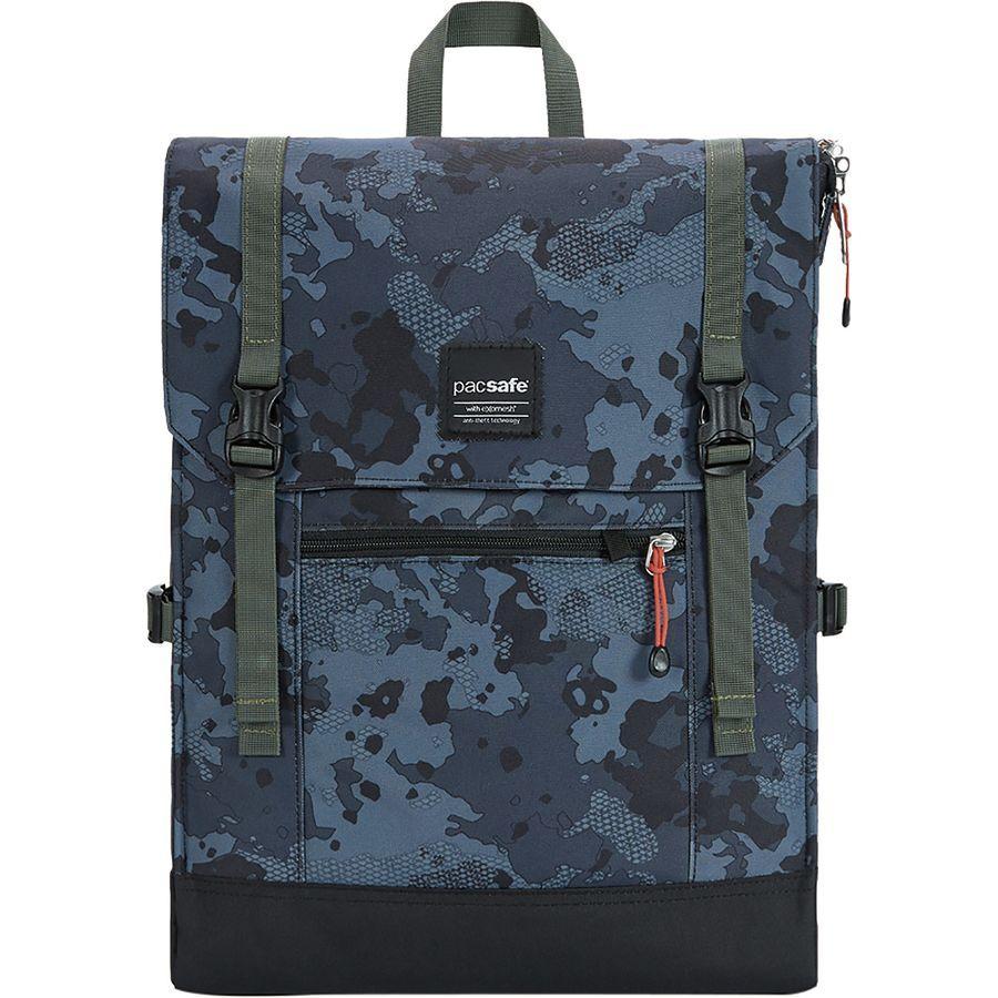 (取寄)パックセーフ スリングセーフ LX450 15L バックパック Pacsafe Men's Slingsafe LX450 15L Backpack Grey Camo