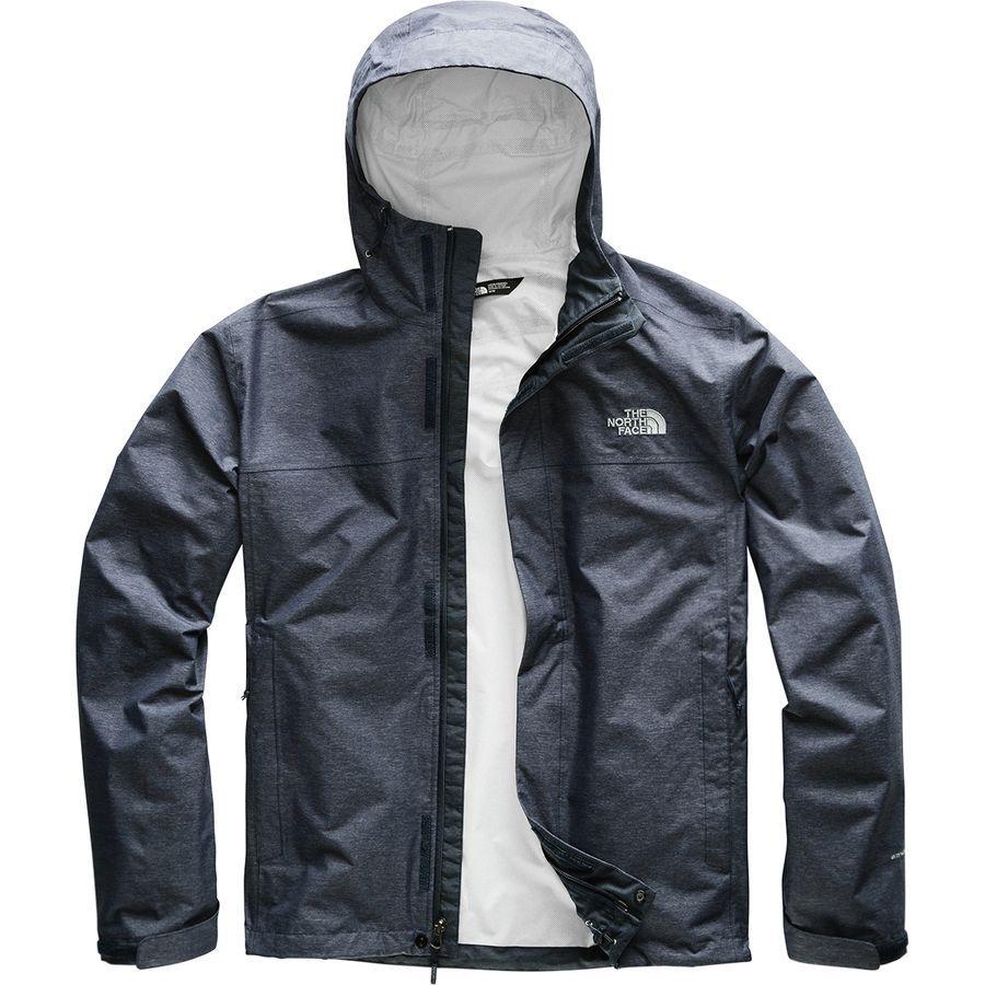 (取寄)ノースフェイス メンズ ベンチャー 2 フーデッド ジャケット The North Face Men's Venture 2 Hooded Jacket Urban Navy Heather/Mid Grey