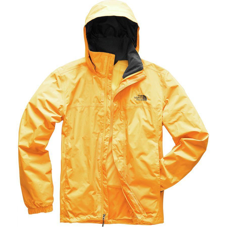 (取寄)ノースフェイス メンズ リゾルブ 2 フーデッド ジャケット The North Face Men's Resolve 2 Hooded Jacket Tnf Yellow/Asphalt Grey