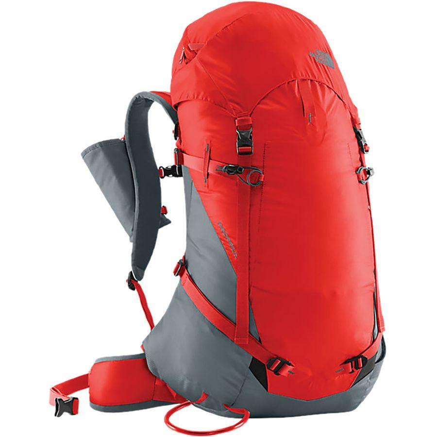 (取寄)ノースフェイス プロプリウス 50L バックパック The North Face Men's Proprius 50L Backpack Fiery Red/Turbulence Grey
