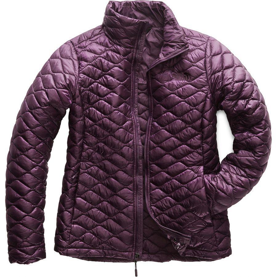 (取寄)ノースフェイス レディース ThermoBall インサレーテッド ジャケット The North Face Women ThermoBall Insulated Jacket Knight Purple