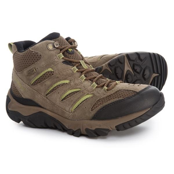 (取寄)メレル メンズ ホワイト パイン ミッド ベンチレーター ハイキング ブーツ Merrell Men's White Pine Mid Ventilator s Hiking Boot Canteen