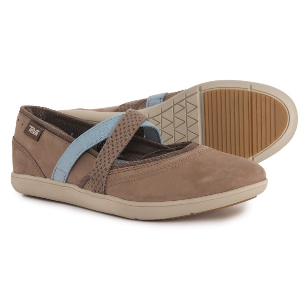 cfa4b1ee5ffa (order) Teva Lady s Hydro-Life Mary Jane shoes Teva Women Hydro-Life Mary  Jane Shoes Walnut