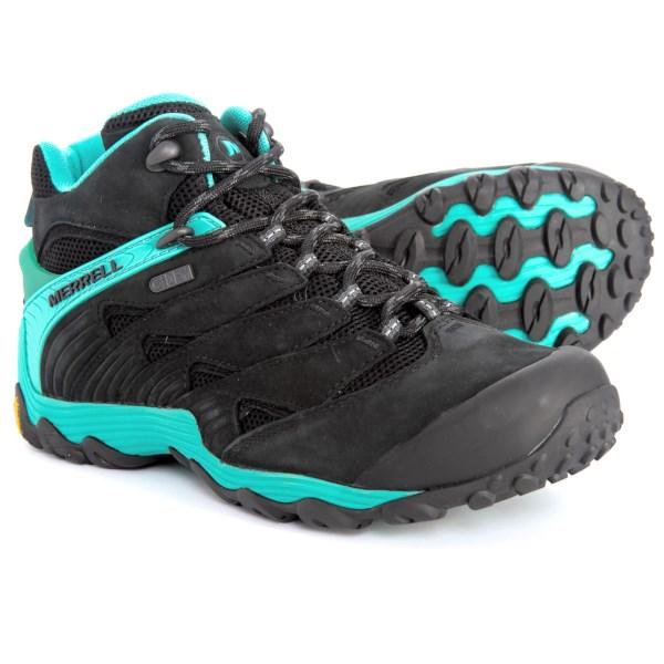 (取寄)メレル レディース カメレオン 7ミッド ハイキング ブーツ Merrell Women Chameleon 7 Mid s Hiking Boot Ice