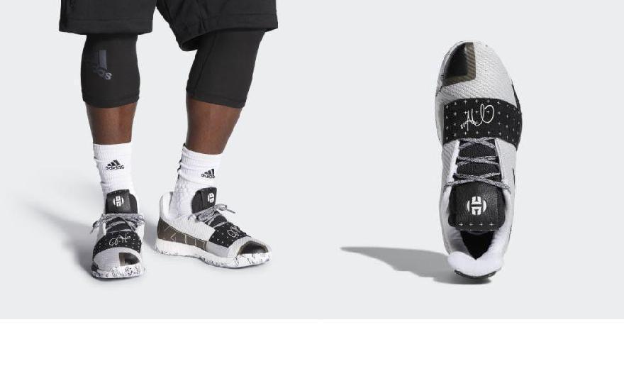 2970445923db (order) Adidas men Arthur Harden volume 3 shoes basketball shoes adidas  Men s Harden Vol. 3 Shoes Cloud White   Core Black   Light Solid Grey