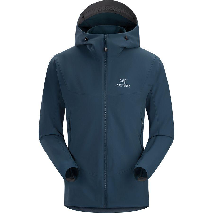 (取寄)アークテリクス メンズ ガマー LT フーデッド ソフトシェル ジャケット Arc'teryx Men's Gamma LT Hooded Softshell Jacket Odyssea