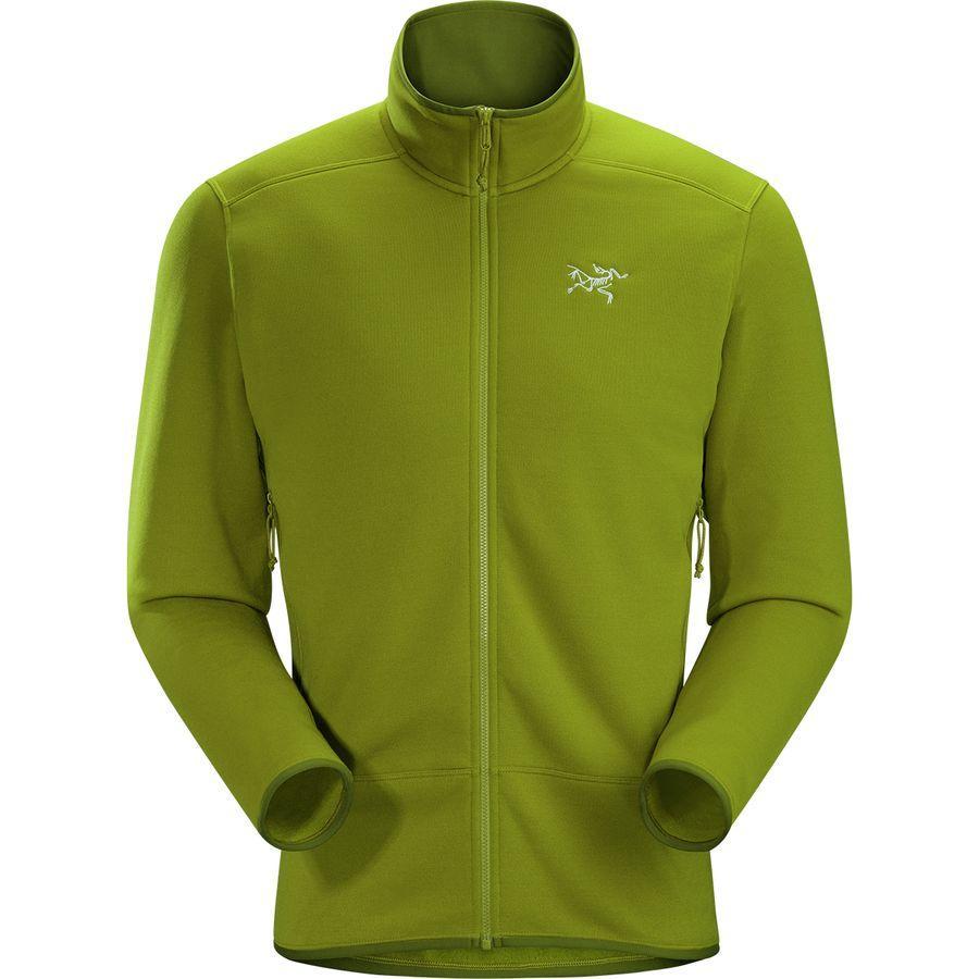 (取寄)アークテリクス メンズ カイヤナイト フリース ジャケット Arc'teryx Men's Kyanite Fleece Jacket Olive Amber