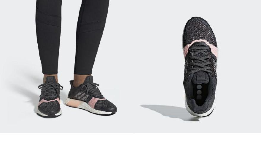 fa5fd166e448 (order) Adidas Lady s ultra boost St running shoes adidas Women Ultraboost  ST Shoes Carbon   Cloud White   Grey
