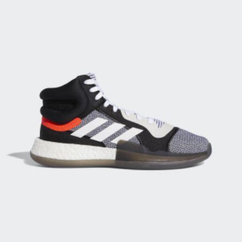 (取寄)アディダス メンズ マーキー ブースト バスケットボールシューズ adidas Men's Marquee Boost Shoes Cloud White / Core Black / Solar Red