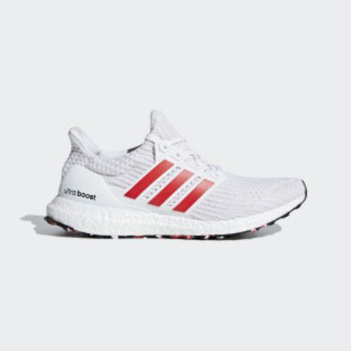 b19e377c06a (order) Adidas men ultra boost running shoes adidas Men s Ultraboost Shoes  Cloud White   Active Red   Chalk White
