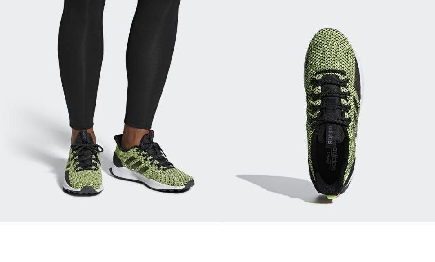 b56ac390ed4 (order) Adidas men zouk Esther trail running shoes adidas Men s Questar  Trail Shoes Core Black   Core Black   Hi-Res Yellow