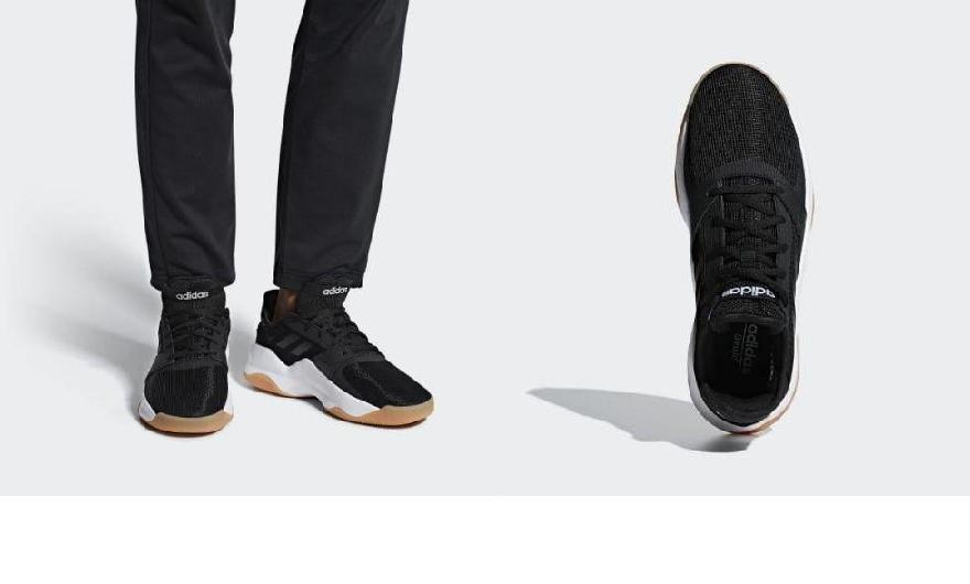 (order) Adidas men street flow basketball shoes adidas Men s Streetflow  Shoes Core Black   Core Black   Cloud White 850ff3cb8