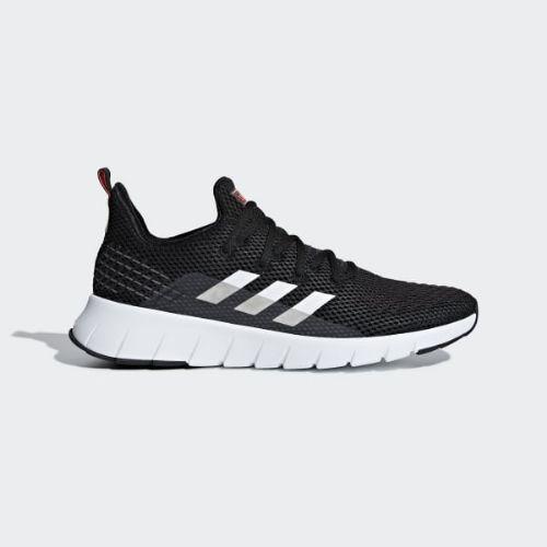【クーポンで最大2000円OFF】(取寄)アディダス メンズ オズウィーゴ ランニングシューズ adidas Men's Asweego Shoes Core Black / Cloud White / Solar Red