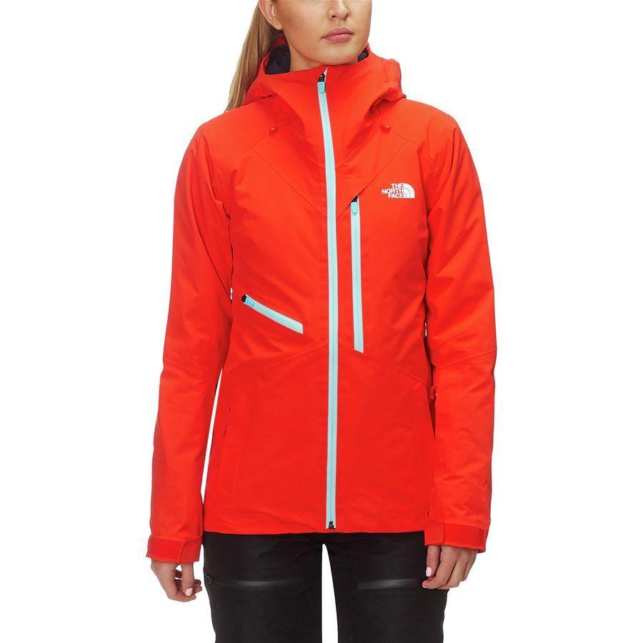 【クーポンで最大2000円OFF】(取寄)ノースフェイス レディース ロストレイル ジャケット The North Face Women Lostrail Jacket Valencia Orange