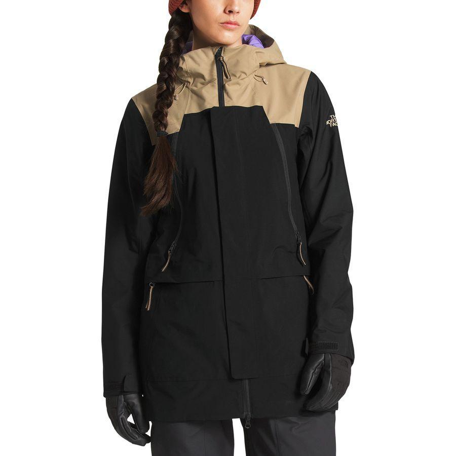 【クーポンで最大2000円OFF】(取寄)ノースフェイス レディース クラス ジャケット The North Face Women Kras Jacket Kelp Tan/Tnf Black