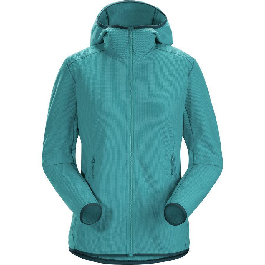 (取寄)アークテリクス レディース デルタ LT フーデッド フリース ジャケット Arc'teryx Women Delta LT Hooded Fleece Jacket Firoza