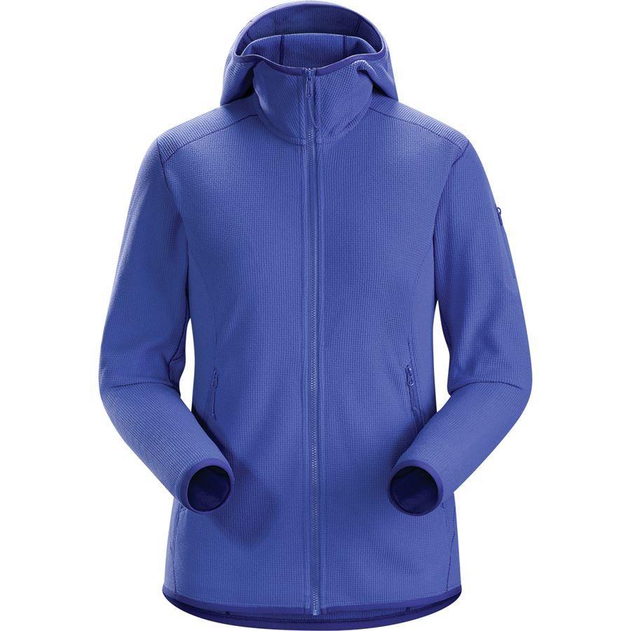(取寄)アークテリクス レディース デルタ LT フーデッド フリース ジャケット Arc'teryx Women Delta LT Hooded Fleece Jacket Iolite