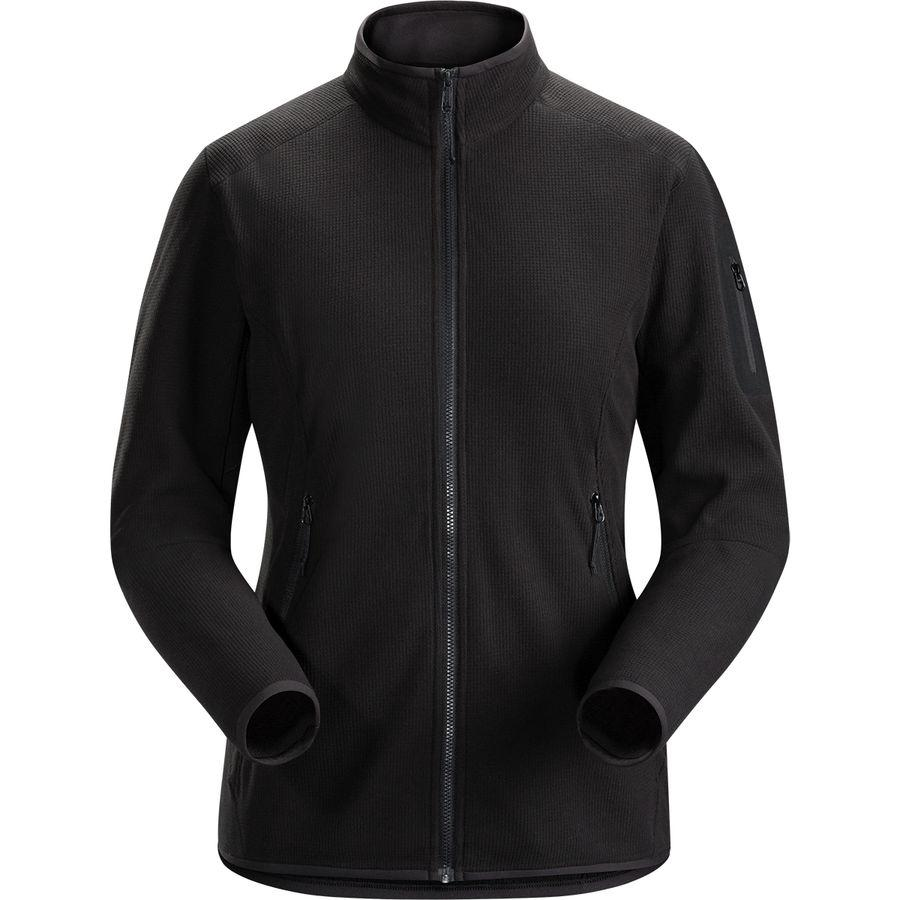 (取寄)アークテリクス レディース デルタ LT フリース ジャケット Arc'teryx Women Delta LT Fleece Jacket Black