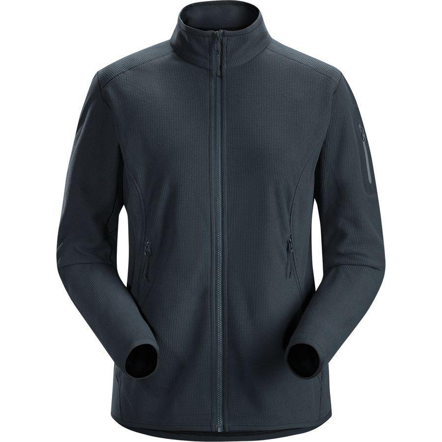 (取寄)アークテリクス レディース デルタ LT フリース ジャケット Arc'teryx Women Delta LT Fleece Jacket Black Sapphire