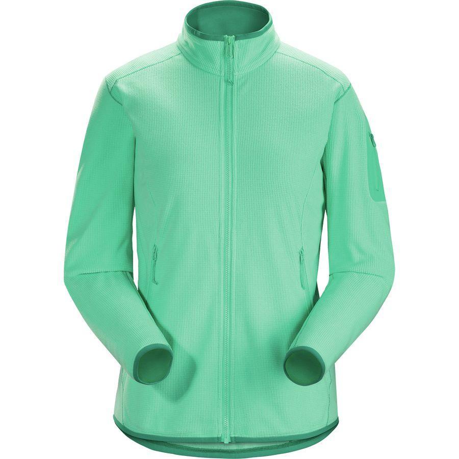 【ハイキング 登山 マウンテン アウトドア】【ウェア アウター】【山ガール ファッション ブランド】 (取寄)アークテリクス レディース デルタ LT フリース ジャケット Arc'teryx Women Delta LT Fleece Jacket Illucinate