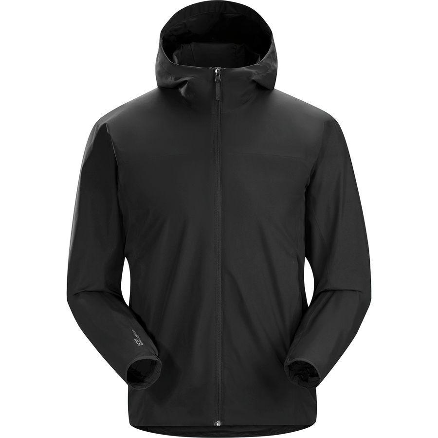 (取寄)アークテリクス メンズ ソラノ フーデッド ジャケット Arc'teryx Men's Solano Hooded Jacket Black