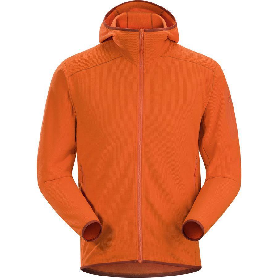 (取寄)アークテリクス メンズ デルタ LT フーデッド フリース ジャケット Arc'teryx Men's Delta LT Hooded Fleece Jacket Trail Blaze