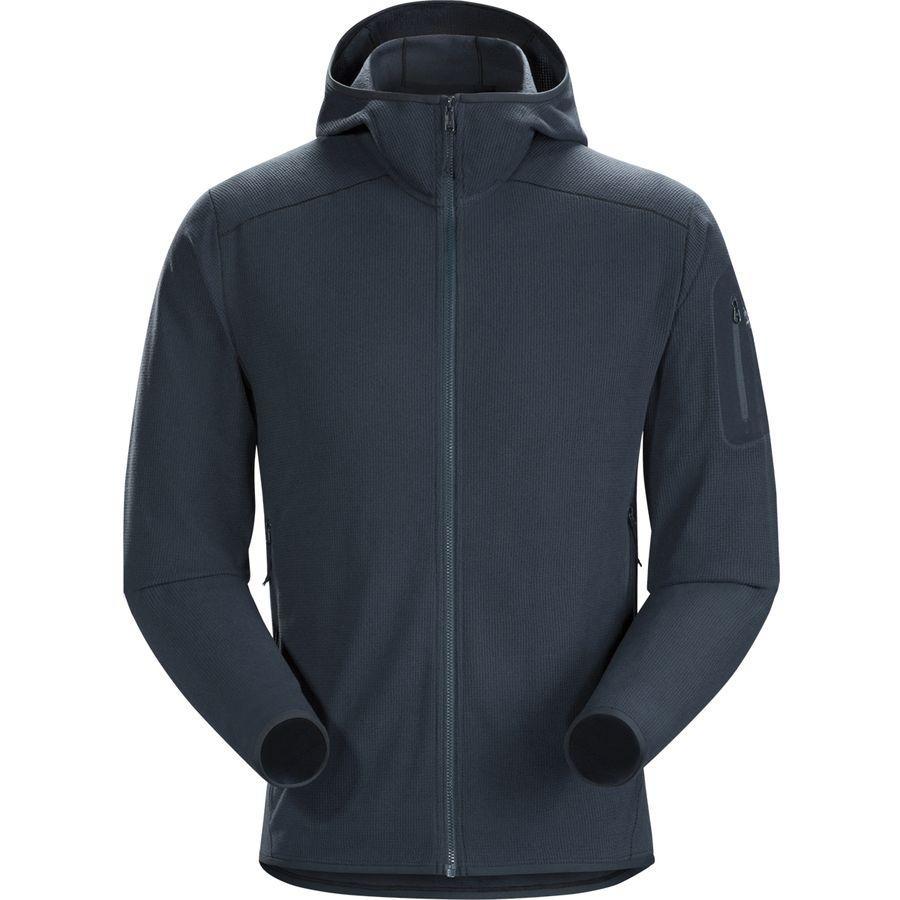 (取寄)アークテリクス メンズ デルタ LT フーデッド フリース ジャケット Arc'teryx Men's Delta LT Hooded Fleece Jacket Tui