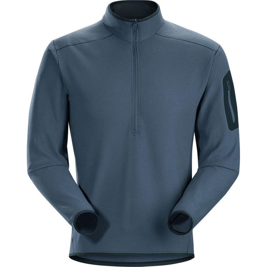 (取寄)アークテリクス メンズ デルタ LT Zip-Neck フリース プルオーバー Arc'teryx Men's Delta LT Zip-Neck Fleece Pullover Neurostorm