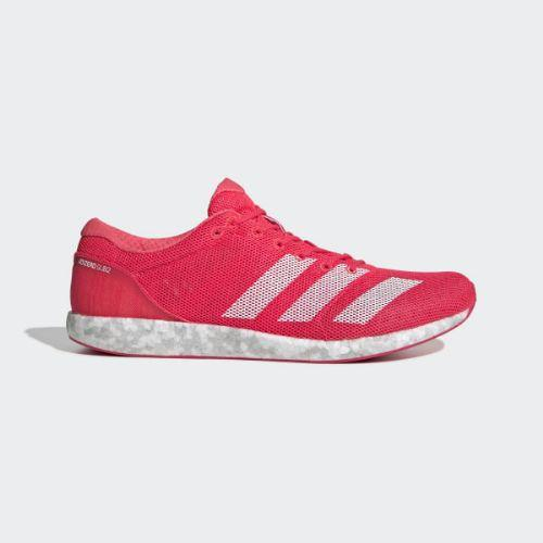 (取寄)アディダス メンズ アディゼロ サブ 2 ランニングシューズ adidas Men's Adizero Sub 2 Shoes Shock Red / Cloud White / Active Pink