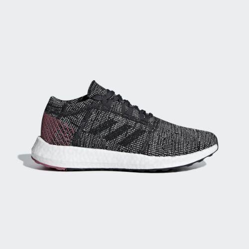 (取寄)アディダス レディース ピュアブースト ゴー ランニングシューズ adidas Women Pureboost Go Shoes Carbon / Carbon / Trace Maroon