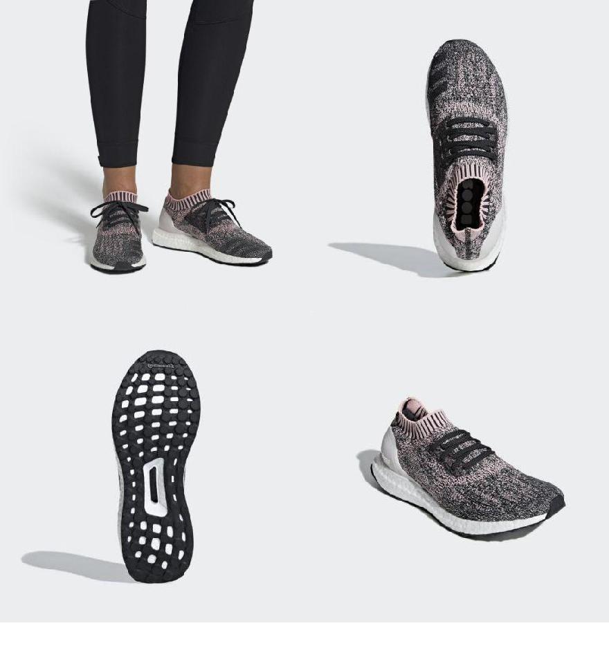 信頼】 Clear Pink True Shoes Uncaged Ultraboost Women