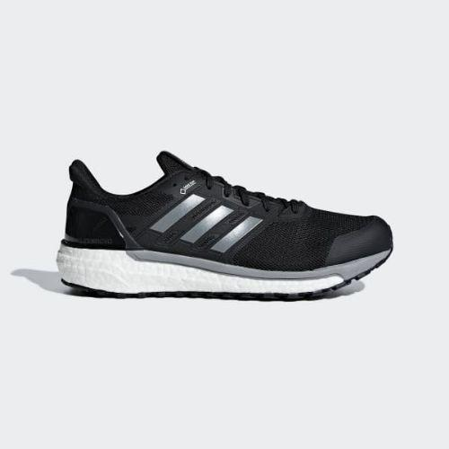 (取寄)アディダス メンズ スーパーノヴァ ゴア ランニングシューズ adidas Men's Supernova Gore Shoes Core Black / Grey / Hi-Res Yellow
