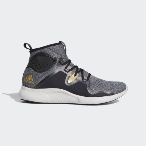 (取寄)アディダス レディース エッジバウンス ミッド ランニングシューズ adidas Women Edgebounce Mid Shoes Core Black / Core Black / Gold Metallic