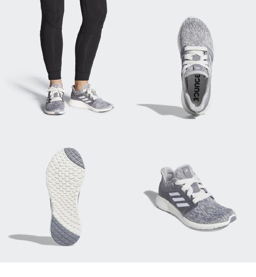 3ef9e55dc30 (order) Adidas Lady s edge Lux 3 running shoes adidas Women Edge Lux 3  Shoes Grey   Running White   Silver Metallic