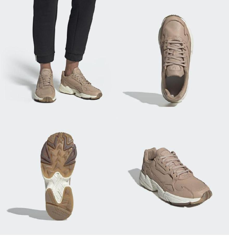 beba0f25385b90 ... (order) Adidas originals Lady's falcon shoes adidas originals Women Falcon  Shoes Ash Pearl /