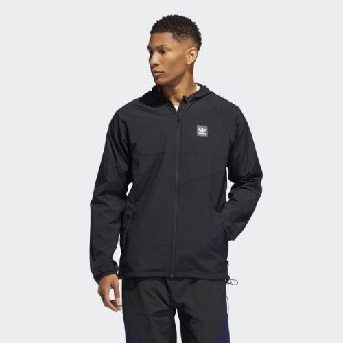 (取寄)アディダス オリジナルス メンズ ディーカム パッカブル ウインド ジャケット adidas originals Men's Dekum Packable Wind Jacket Black / Black