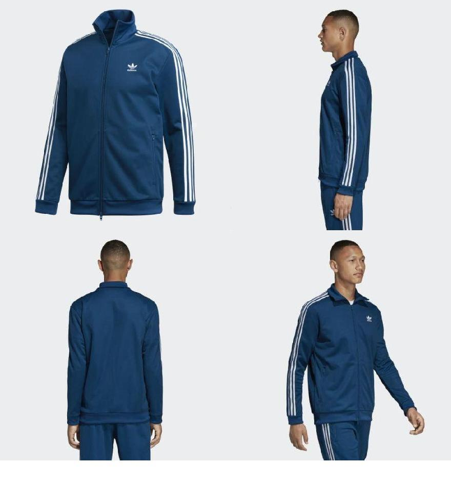 5eec51d4 (order) Adidas originals men BB truck jacket adidas originals Men's BB  Track Jacket Legend Marine