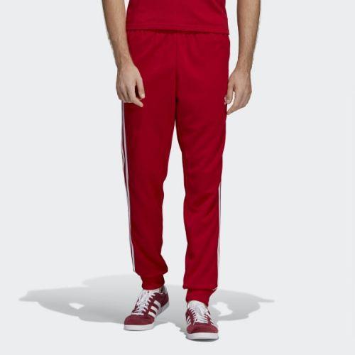 (取寄)アディダス オリジナルス メンズ SST トラック パンツ adidas originals Men's SST Track Pants Power Red