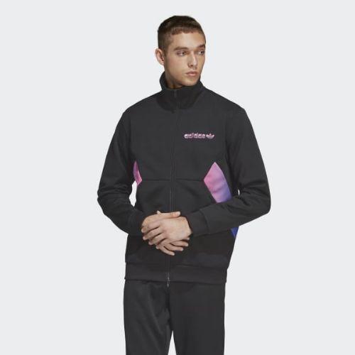 (取寄)アディダス オリジナルス メンズ デグレイド トラック ジャケット adidas originals Men's Degrade Track Jacket Black