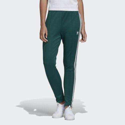 (取寄)アディダス オリジナルス レディース SST トラック パンツ adidas originals Women SST Track Pants Collegiate Green