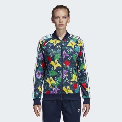 (取寄)アディダス オリジナルス レディース SST グラフィック トラック ジャケット adidas originals Women SST Graphic Track Jacket Multicolor
