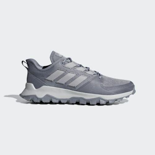 (取寄)アディダス メンズ カナディア トレイル ランニングシューズ adidas Men's Kanadia Trail Shoes Grey / Grey / Grey
