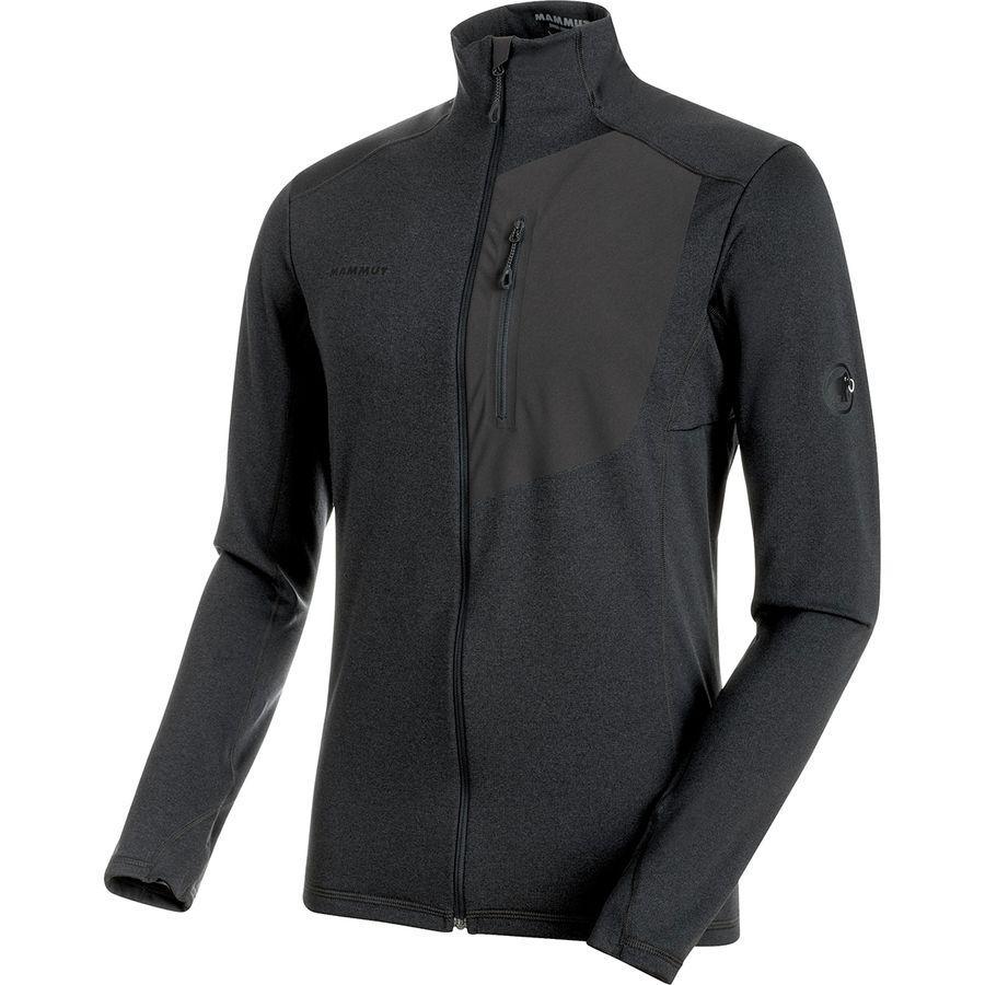 (取寄)マムート メンズ アコンカグア ライト M1 フリース ジャケット Mammut Men's Aconcagua Light ML Fleece Jacket Graphite Melange
