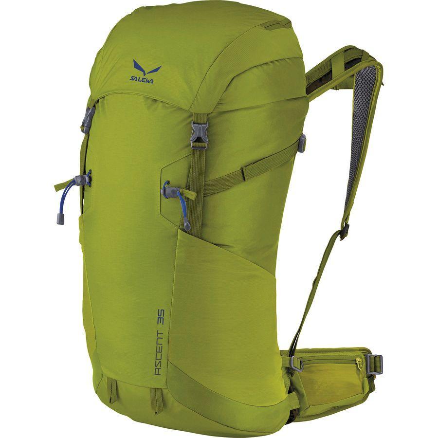 (取寄)サレワ ユニセックス アセント 35L バックパック Salewa Men's Ascent 35L Backpack Leaf Green