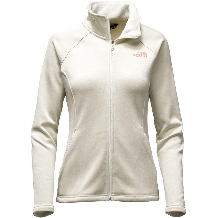 (取寄)ノースフェイス レディース アガヴェ フリース ジャケット The North Face Women Agave Fleece Jacket Vintage White Heather